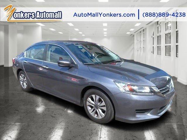2013 Honda Accord Sdn LX Obsidian Blue PearlBlack V4 24L Variable 24139 miles Yonkers Auto Ma