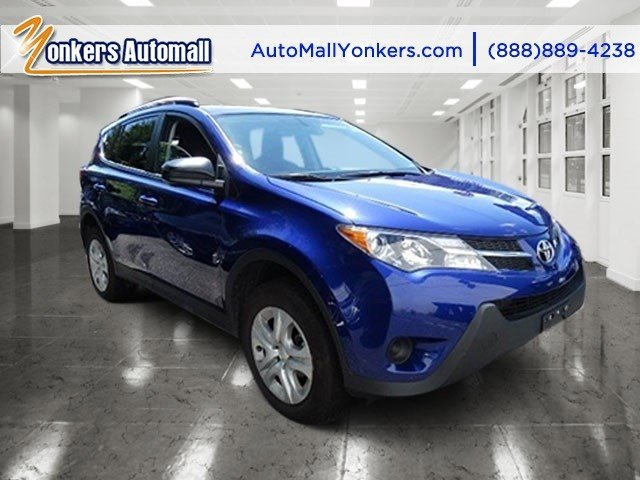 2014 Toyota RAV4 LE Blue Crush MetallicBlack V4 25 L Automatic 18660 miles 1owner clean carf