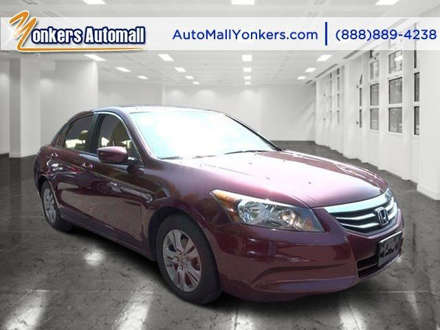 2012 Honda Accord Sdn LX Premium Basque Red Pearl IIIvory V4 24L Automatic 44943 miles 1 owne