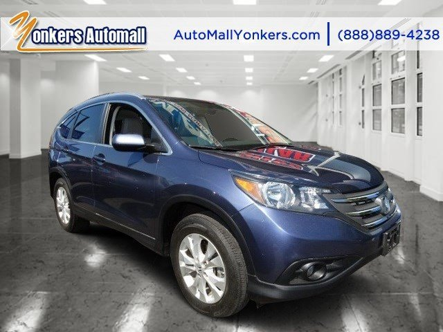 2012 Honda CR-V EX-L Twilight Blue MetallicBeige V4 24L Automatic 38795 miles 1 owner clean