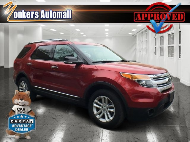 2015 Ford Explorer XLT Ruby Red Metallic Tinted ClearcoatMedium Light Stone V6 35 L Automatic
