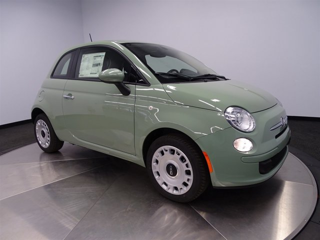 2016 FIAT 500 Pop Verde Chiaro Light GreenA7X9 V4 14 L Automatic 8 miles  22A EAB DF1 PGA A