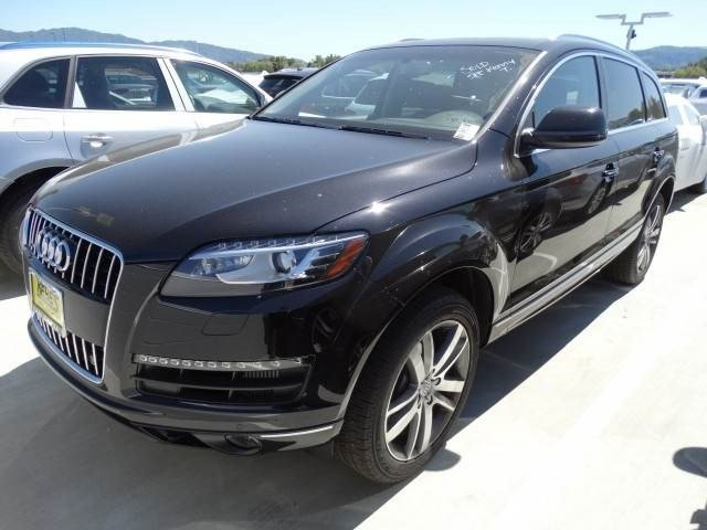 2015 Audi Q7 30L TDI Premium Plus Orca Black MetallicBlack Leather V6 30 L Automatic 87 miles