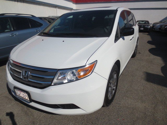 2012 Honda Odyssey EX-L Taffeta WhiteGray V6 35L Automatic 45003 miles NEW ARRIVAL Here is Th