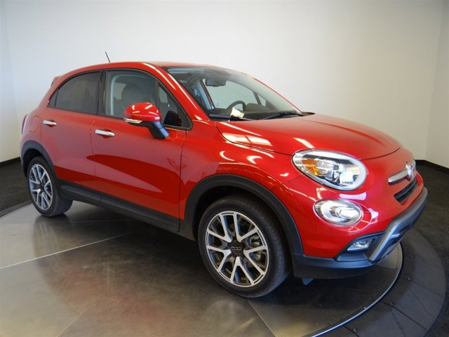 2016 FIAT 500X Trekking Plus Rosso Amore Red Tri-CoatALX9 V4 24 L Automatic 0 miles Buy it
