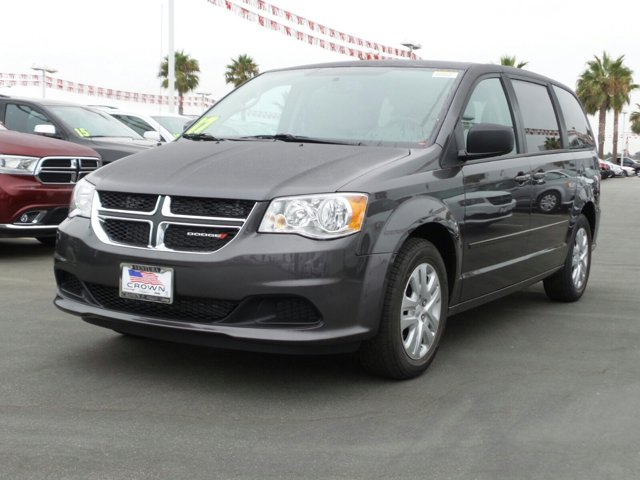 2017 Dodge Grand Caravan Granite Pearlcoat V6 36 L Automatic 0 miles  Front Wheel Drive  Pow