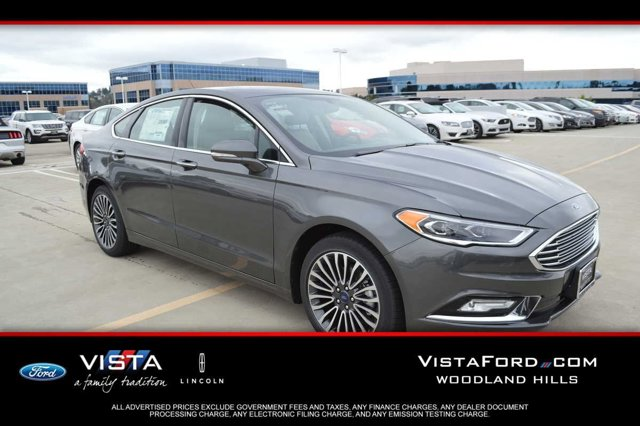 2017 Ford Fusion SE MagneticBq Med Lt Stone V4 20 L Automatic 3 miles  J7 44W 153 ZZ1 202A 99