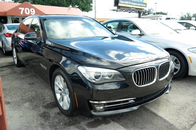 2013 BMW 7 Series 740Li xDrive Jet BlackBlack V6 30L Automatic 78213 miles GUARANTEED FINANCI