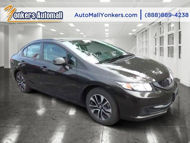 2013 Honda Civic Sdn EX Kona Coffee MetallicBlack V4 18L Automatic 32673 miles  Rearview Came