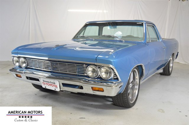 1966 Chevrolet El Camino Blue V  Automatic 314 miles This classic is a 1966 Chevy El Camino I