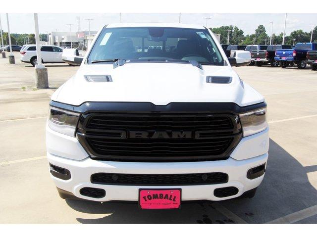 2020 Ram 1500 Laramie Ivory White Tri-Coat PearlcoatBlack V8 57 L Automatic 11 miles 2020 Ram