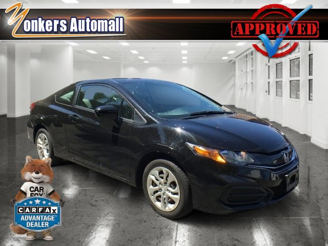 2014 Honda Civic Coupe LX Crystal Black PearlGray V4 18 L Variable 35901 miles Check out this