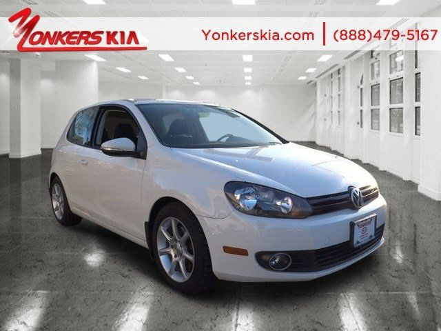 2011 Volkswagen Golf TDI Candy WhiteTitan Black V4 20L Automatic 125270 miles 1 owner clean c