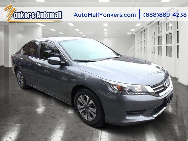 2013 Honda Accord Sdn LX Modern Steel MetallicGray V4 24L Automatic 10695 miles Solid and sta