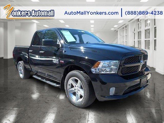 2013 Ram 1500 Tradesman BlackBlackDiesel Gray Interior V8 57L Automatic 16507 miles Yonkers