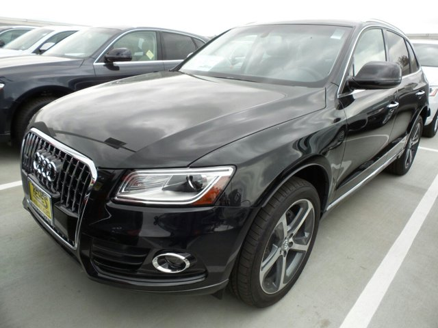 2015 Audi Q5 Premium Plus Brilliant BlackBLACK LEATHER V6 30 L Automatic 11 miles  Turbocharg