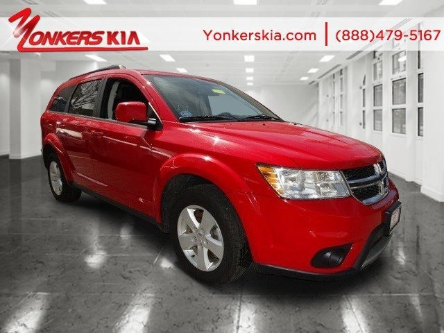 2012 Dodge Journey SXT Bright RedBlack V6 36L Automatic 20500 miles 3rd row seats Satellite