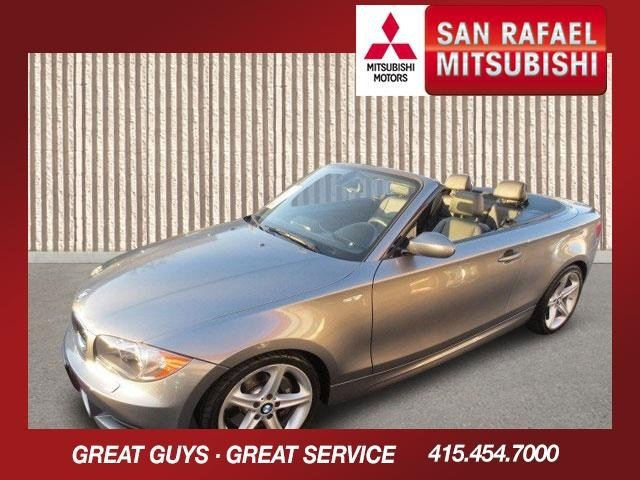 2009 BMW 1 Series 135i Convertible Space Gray MetallicBlack V6 30L Automatic 59995 miles LOADE
