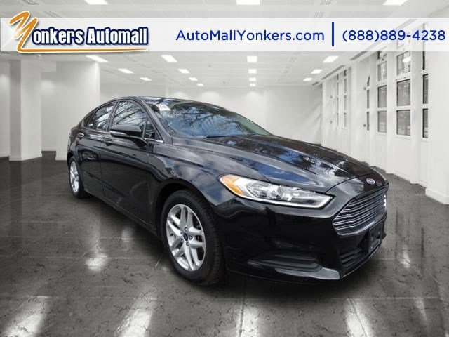 2014 Ford Fusion SE Tuxedo Black MetallicEbony V4 25 L Automatic 39816 miles 1 owner clean c