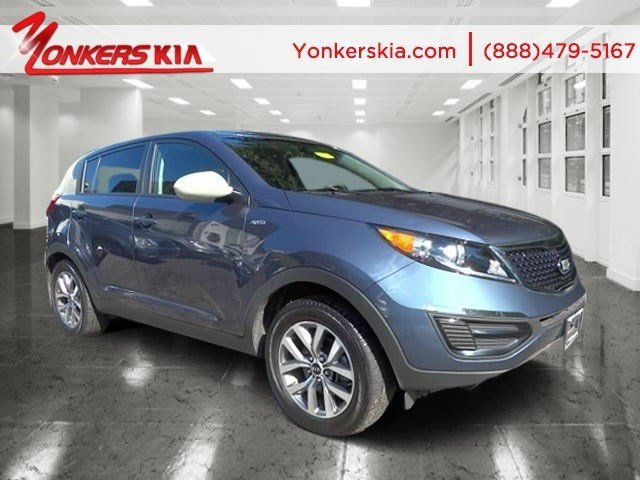 2014 Kia Sportage LX Twilight BlueAlpine Gray V4 24 L Automatic 23722 miles Yonkers Kia is th