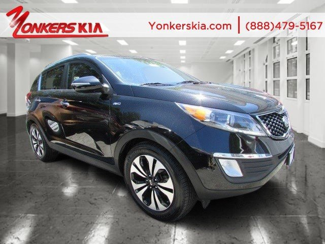 2012 Kia Sportage SX BlackBlack V4 20L Automatic 66635 miles Navigation NAV Solid and sta