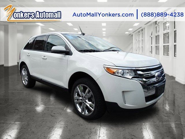 2012 Ford Edge SEL White Platinum Tri-Coat MetallicAgate V6 35L Automatic 48534 miles 1 owner