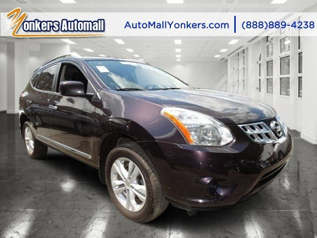 2012 Nissan Rogue SV Black AmethystBlack V4 25L Automatic 48683 miles Yonkers Auto Mall is th