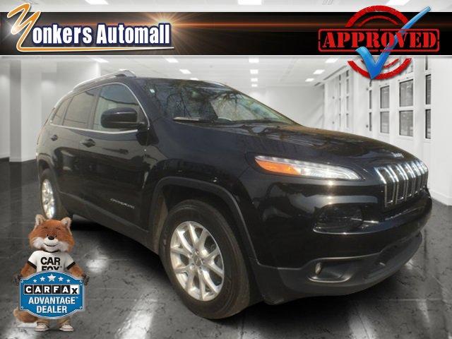2016 Jeep Cherokee Latitude Brilliant Black Crystal PearlcoatBlack V4 24 L Automatic 42643 mil