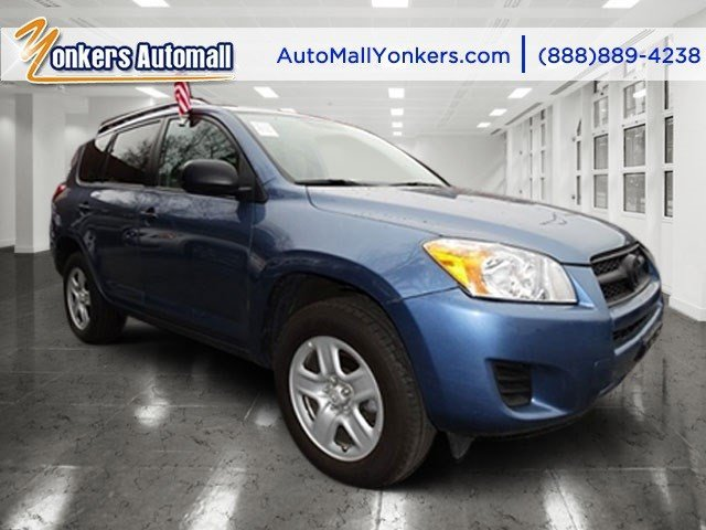 2012 Toyota RAV4 Pacific Blue MetallicGray V4 25L Automatic 52827 miles  Four Wheel Drive  P
