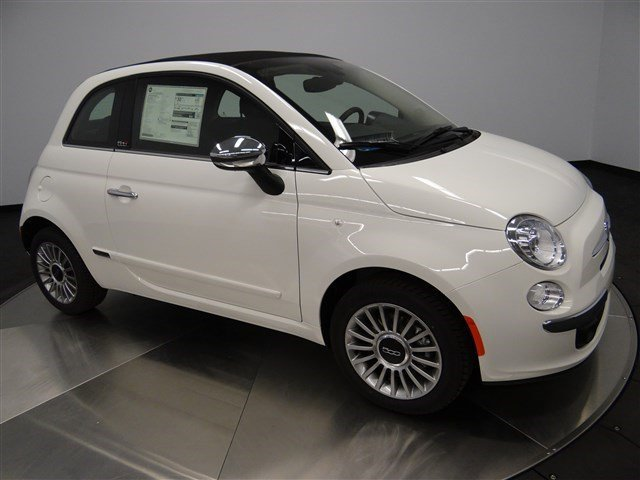 2016 FIAT 500c Lounge Bianco WhiteAlx9 V4 14 L Automatic 0 miles Buy it Try it Love it o