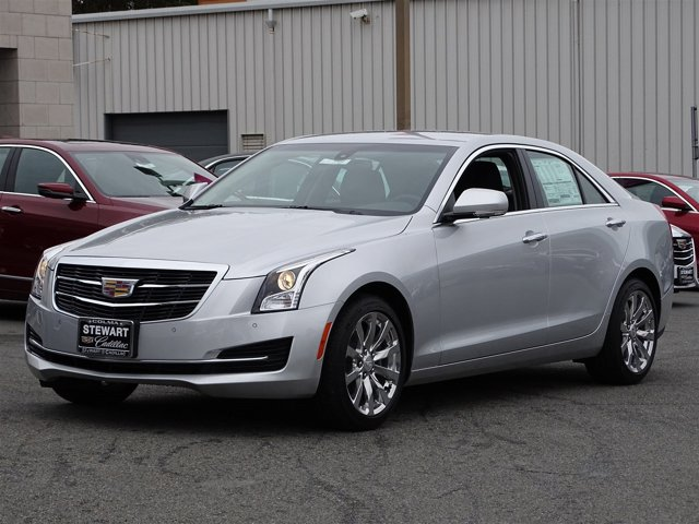 2017 Cadillac ATS Sedan Luxury RWD Radiant Silver MetallicJet Black with Jet Black Accents V4 2