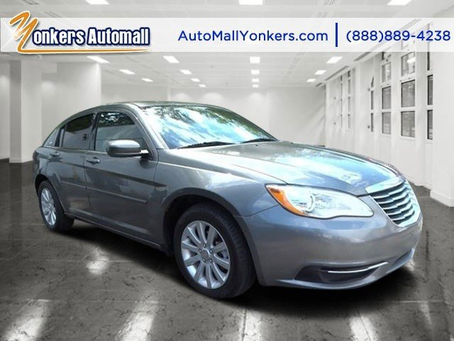2013 Chrysler 200 Touring Billet Silver MetallicBlack V4 24L Automatic 41020 miles Grand and