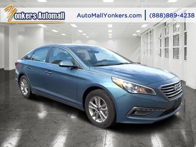 2015 Hyundai Sonata 24L SE Lakeside BlueBeige V4 24 L Automatic 35839 miles As reported by K