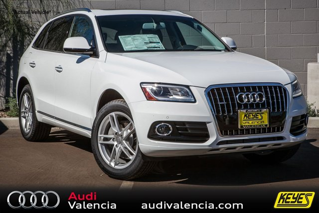 2016 Audi Q5 Premium Plus Ibis WhiteBLACK INTERIOR V6 30 L Automatic 7 miles  Turbocharged