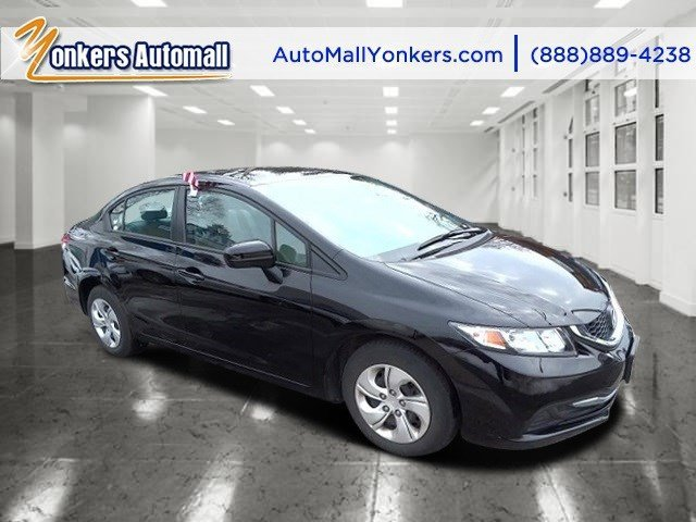 2014 Honda Civic Sedan LX Crystal Black PearlGray V4 18 L Variable 33854 miles This Honda Civ
