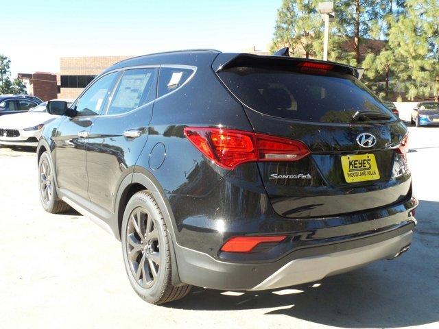 2017 Hyundai Santa Fe Sport 20T Ultimate BlackGray V4 20 L Automatic 9 miles Woodland Hills