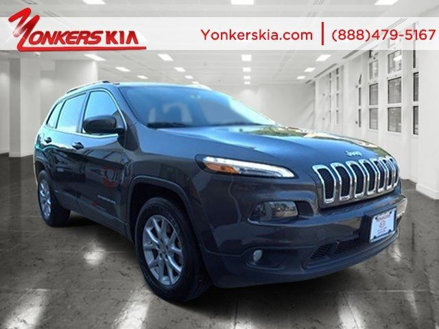 2014 Jeep Cherokee Latitude Granite Crystal Metallic ClearcoatBlack V6 32 L Automatic 24381 mi