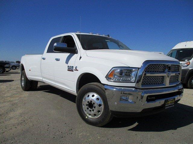 2017 Ram 3500 Laramie Bright White ClearcoatBlack V6 67 L Automatic 16 miles  BRIGHT WHITE CL