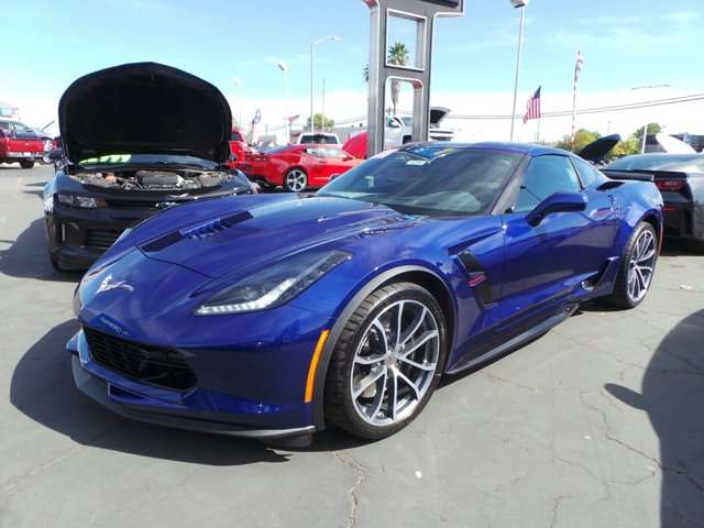 2017 Chevrolet Corvette Grand Sport 3LT Admiral Blue MetallicBlue V8 62L Automatic 1827 miles