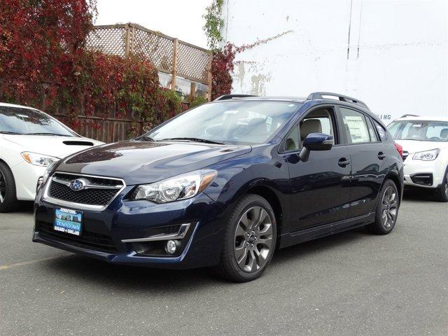 2016 Subaru Impreza Wagon 20i Sport Limited Quartz Blue PearlIvory V4 20 L Variable 17 miles