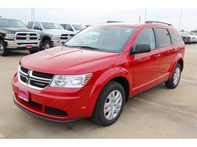 2017 Dodge Journey SE Redline 2 Coat PearlBlack V4 24 L Automatic 4 miles  UCONNECT VOICE COM