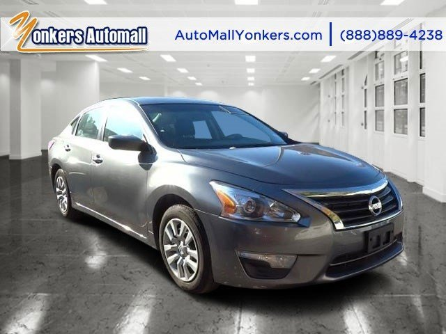 2014 Nissan Altima 25 S Gun MetallicCharcoal V4 25 L Automatic 40773 miles Yonkers Auto Mall