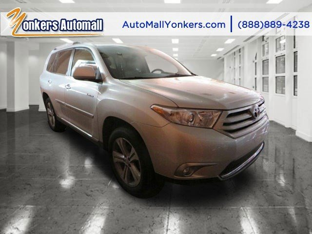 2012 Toyota Highlander Limited wNavigation Shoreline Blue PearlBlack V6 35L Automatic 36217 mi