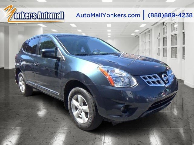 2013 Nissan Rogue S Graphite BlueGray V4 25L Automatic 39347 miles Lavishly luxurious this 2