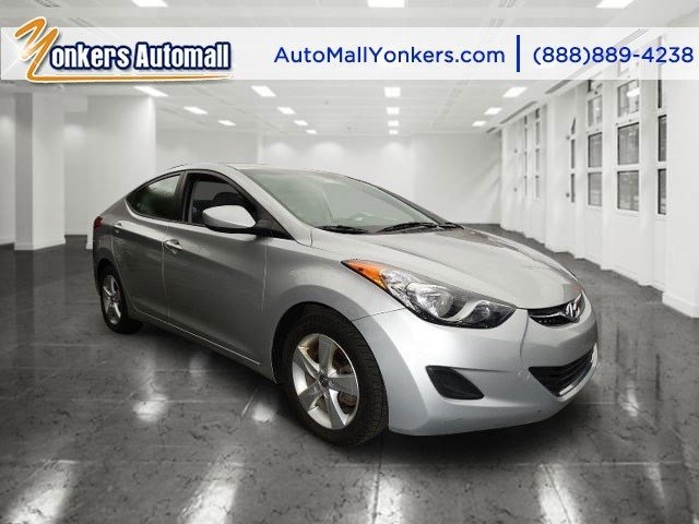 2013 Hyundai Elantra GLS Radiant SilverGray V4 18L Automatic 47128 miles Yonkers Auto Mall is