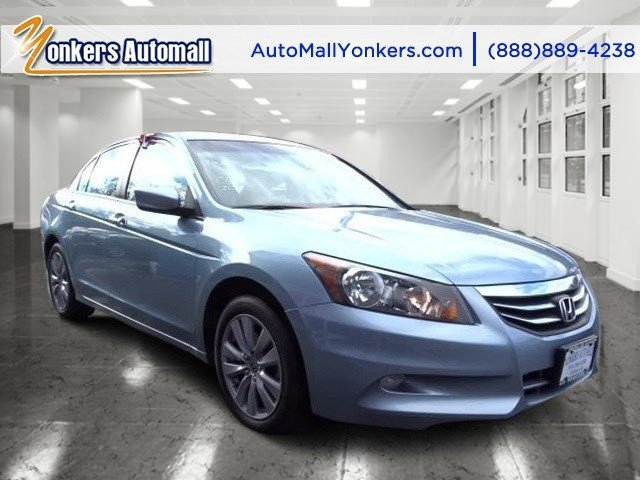 2012 Honda Accord Sdn EX-L Celestial Blue MetallicIvory V6 35L Automatic 45249 miles 1 owner