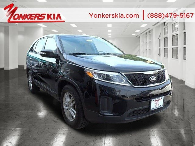 2014 Kia Sorento LX Ebony BlackBlack V4 24 L Automatic 7330 miles Yonkers Kia is the largest