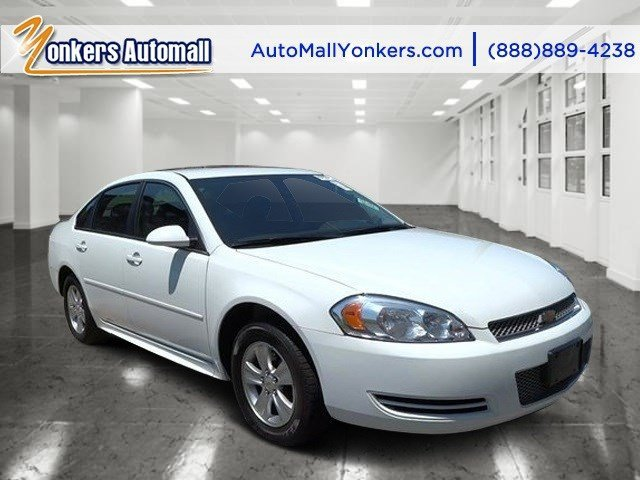 2013 Chevrolet Impala LS Summit WhiteEbony V6 36L Automatic 45431 miles Yonkers Auto Mall is