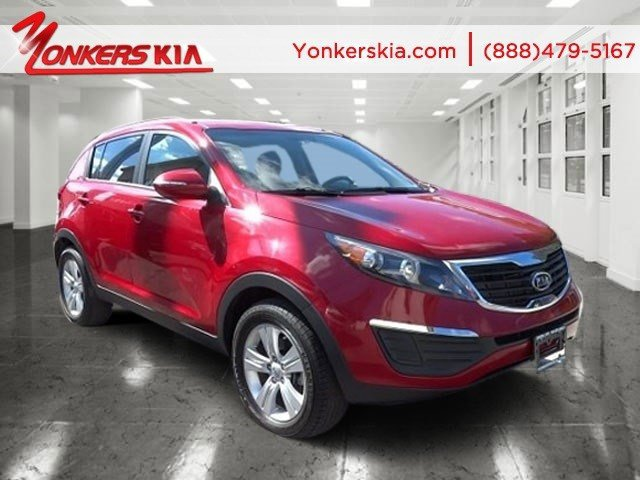 2012 Kia Sportage LX Signal RedBlack V4 24L Automatic 37124 miles Yonkers Kia is the largest