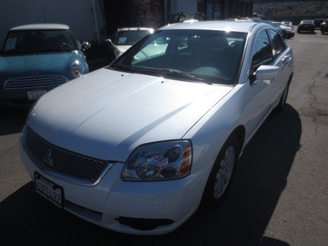 2012 Mitsubishi Galant FE White PearlBlack V4 24L Automatic 38495 miles GREAT FIRST CAR FOR TH